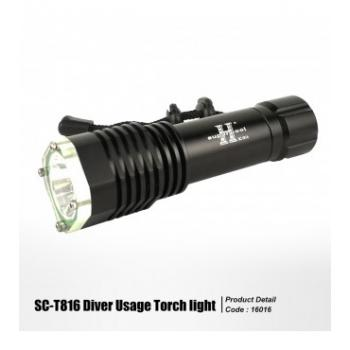 [16016]  SC-T816 DIVER USAGE TORCH LIGHT