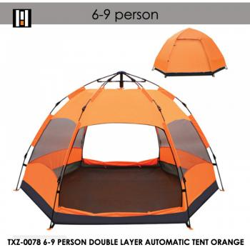 ## TXZ-0078 6-9 PERSON DOUBLE LAYER AUTOMATIC TENT