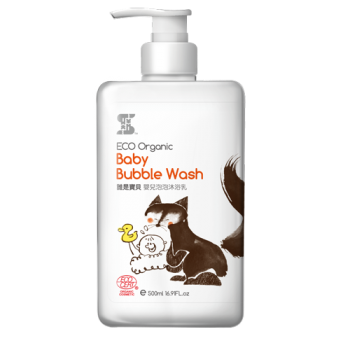 ( SASSI BABY ) Eco Organic Baby Bubble Wash 500ml