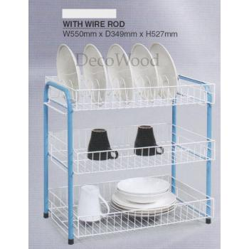 3 Layer Steel Kitchen Rack - EM6201N