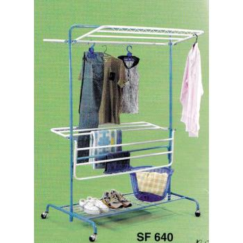 3V Anti Rust Foldable Clothes Drying Rack SF640