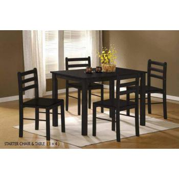 1+4 Dining Set Dining Table Dining Chairs