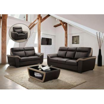 Bella Raine 1+2 + 3 Sofa Relax TV Chair JJ8218L - BLACK