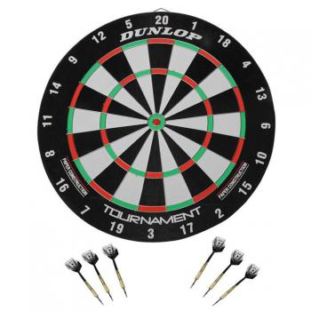 """Sports :: Dunlop Tournament Paper Dartboard"