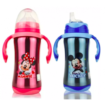 KIDS :: Disney :: Mickey / Minnie Stainless Steel Feeding Bottle