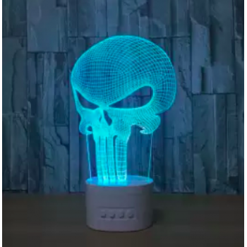 """GADGETS :: Skeleton Lamp Bluetooth Speakers with Acrylic Light"