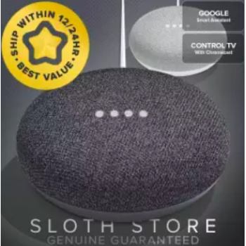 """GADGETS :: Google Home :: Mini Smart Speaker GENUINE with Adapter"
