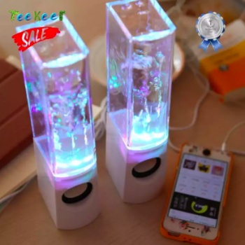 """GADGETS :: Teekeer :: Portable LED Water Dancing Speakers"