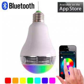 """GADGETS :: Bluetooth colorful light bulb speakers"