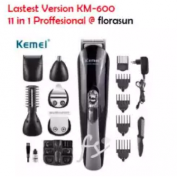 """MEN :: KEMEI KM-600 Professional 11 In 1 Multi-Functional Shaver Hair Trimmer Super Grooming Kit"