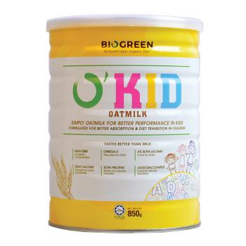 Biogreen O'Kid Oatmilk 850G (HALAL)