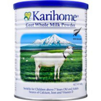 Karihome Goat Whole Milk Powder (7 Years & Above And Adults) (2Tins x 400g)