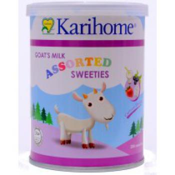 KARIHOME GOAT MILK ASSORTED SWEETIES (2 Tins x 200'S)