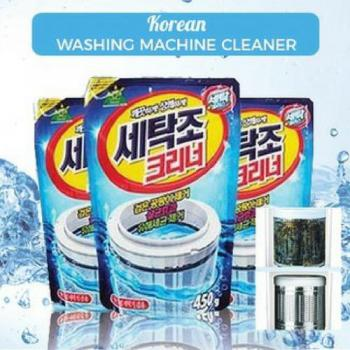 Korea Washing Machine Cleaner Powder Sandokkaebi 450g X 3 packs