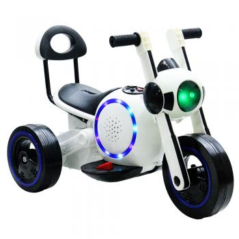 Kids Electric Scooter Ride Rechargeable Space LED Lights & Music (TOY0050)