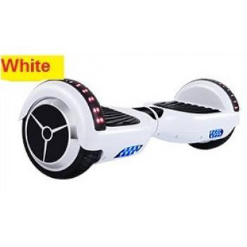 (Limited Ready Stock!!) Balance Scooter 6.5 Inch (15kg-100kg) with Bluetooth Shining Roller (White)