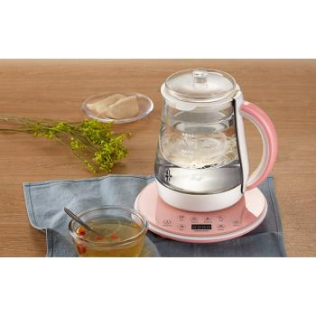 Glass Pot Electric Stew Pot for Bird's Nest Stewing Tea Brewing Porridge Sweet Soup