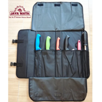 Knife bag_JAYA MATA Chef Knife Bag Cutlery Bag (6 slot) Tools not included ,Beg pisau  (JM10)