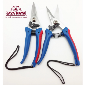 "Garden shears(Set of 2) JAYA MATA 7.5"" Straight Edge Garden Shears_Gunting(JM201)"