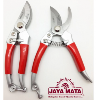 "Garden shears(Set of 2) JAYA MATA 8"" Curve Edge Garden Shears_Gunting  (JM602)"